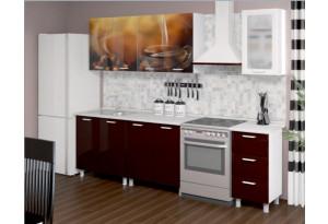 Кухня с фотопечатью Кофе 2,0