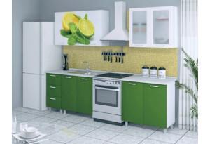 Кухня с фотопечатью Лайм 2,0