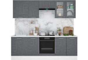 Кухня Лофт 2,3 м (модульная система), Камень Арья