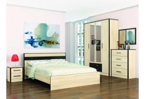 Модульная спальня Лирика комплектация №2
