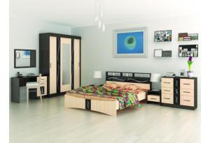 Модульная спальня Эрика комплектация № 2