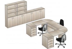 Комплект офисной мебели № 2