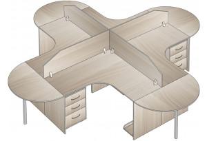 Комплект офисной мебели № 3