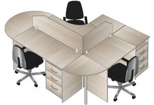 Комплект офисной мебели № 5