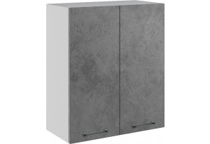 Лофт Навесной шкаф 600 мм, с дверцами