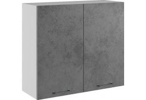 Лофт Навесной шкаф 800 мм, с дверцами