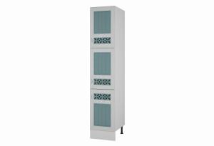 Камелия Пенал Напольный шкаф с тремя дверями