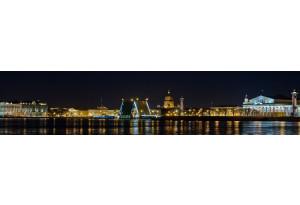 Стеновая панель Петербург ночной