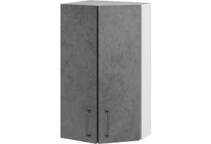 Лофт Навесной шкаф Торцевой 400 мм, угловой