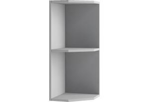 Лофт Навесной шкаф Торцевой 300 мм, открытый