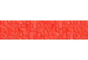 Стеновая панель SP MSK Треугольники Красный