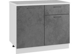Лофт Напольный шкаф 1000 мм, с дверцами