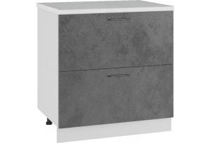 Лофт Напольный шкаф 800 мм, с ящиками