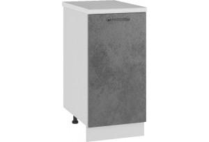 Лофт Напольный шкаф 400 мм, с дверцей