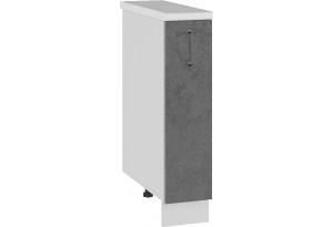 Лофт Напольный шкаф 200 мм, бутылочница