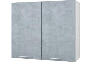 Лофт Навесной шкаф 800 мм с дверями
