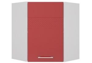 Люкс Навесной угловой шкаф 600 мм с дверцей