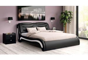 Кровать двойная Скарлетт экокожа