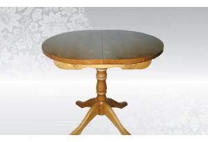 Стол раздвижной на круглой ноге