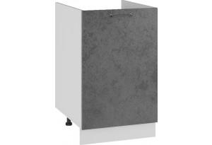 Лофт Напольный шкаф под мойку 500 мм, с дверью