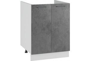Лофт Напольный шкаф под мойку 600 мм, с дверцами