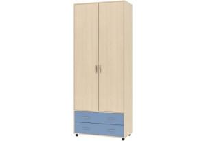 Дельта 4 Шкаф для одежды,  с ящиками