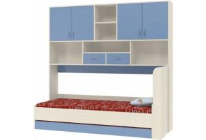 Дельта 21.03 Кровать с антресолью и дополнительным спальным местом