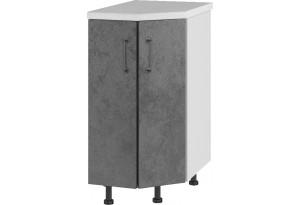 Лофт Напольный шкаф Торцевой 400 мм, угловой