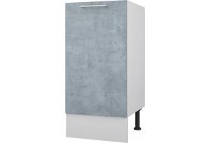 Лофт Напольный шкаф 400 мм с дверцей