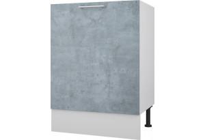 Лофт Напольный шкаф под мойку 600 мм с дверью