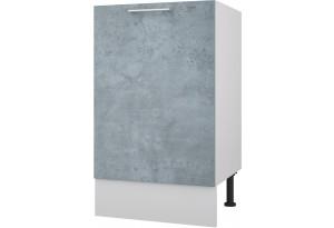 Лофт Напольный шкаф под мойку 500 мм с дверью