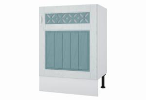 Камелия Напольный шкаф под мойку 600 мм с дверью