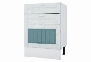 Камелия Напольный шкаф 600 мм с тремя ящиками