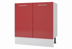 Люкс Напольный шкаф 800 мм с дверями