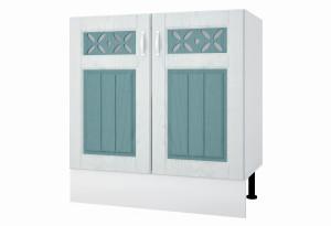 Камелия Напольный шкаф под мойку 800 мм с дверями