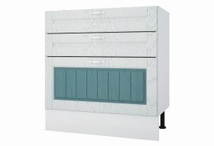 Камелия Напольный шкаф 800 мм с тремя ящиками