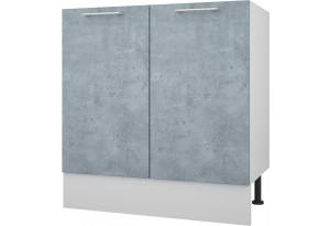 Лофт Напольный шкаф под мойку 800 мм с дверями