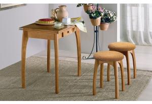 Стол обеденный раскладной к кухонному углу Б + 2 табуретки