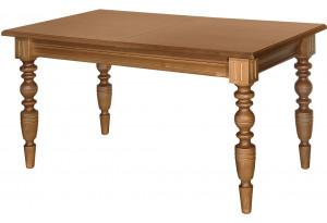 Стол обеденный раздвижной (массив, резная нога)