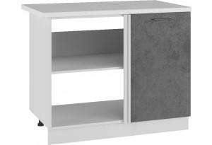 Лофт Напольный шкаф угловой стыковочный 1050 мм, с дверцей