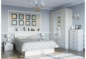 Модульная спальня Вега Сосна Карелия