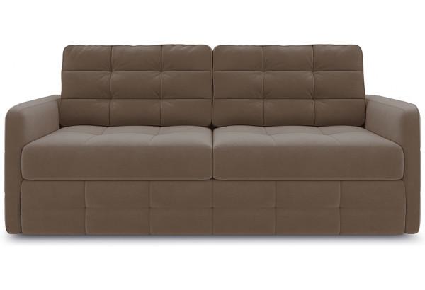 Диван «Райс Slim» Kolibri Mocco (велюр) коричневый - фото 2