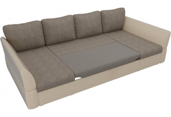 П-образный диван Гесен Корфу 03/коричневый (Корфу/экокожа) - фото 6
