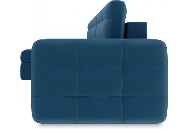 Диван угловой левый «Райс Т1» Beauty 07 (велюр) синий - фото 3
