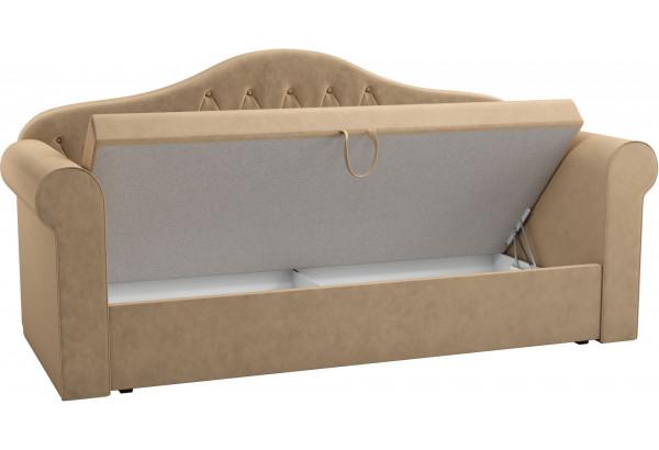 Детская кровать Делюкс Бежевый (Микровельвет) - фото 2