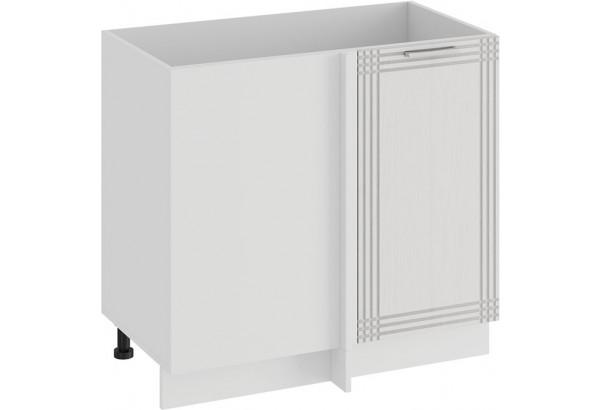 Шкаф напольный угловой «Ольга» (Белый/Белый) - фото 1