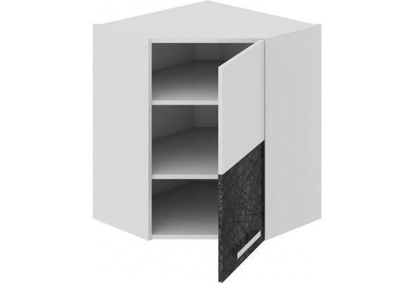 Шкаф навесной угловой с углом 45 (правый) Фэнтези (Лайнс) - фото 1