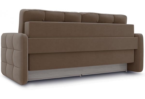 Диван «Райс Slim» Kolibri Mocco (велюр) коричневый - фото 3