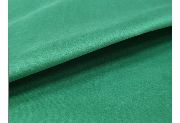 Кухонный прямой диван Династия бежевый/зеленый (Велюр) - фото 5