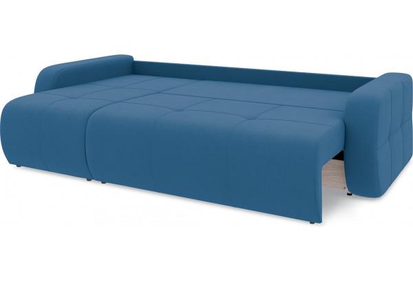 Диван угловой левый «Томас Т1» Beauty 07 (велюр) синий - фото 7